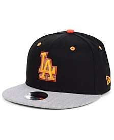 New Era Boys' Los Angeles Dodgers Lil Orange Pop 9FIFTY Cap