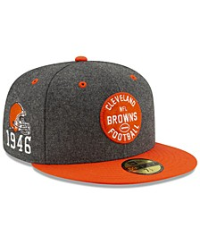 Cleveland Browns On-Field Sideline Home 59FIFTY-FITTED Cap