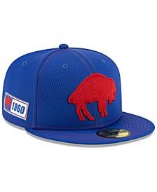 Buffalo Bills On-Field Sideline Road 59FIFTY-FITTED Cap