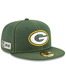 Green Bay Packers On-Field Sideline Road 59FIFTY-FITTED Cap