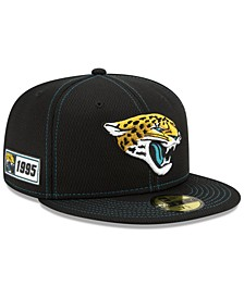 Jacksonville Jaguars On-Field Sideline Road 59FIFTY-FITTED Cap