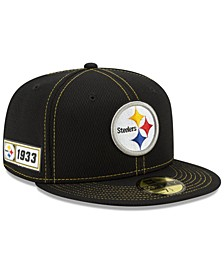 Pittsburgh Steelers On-Field Sideline Road 59FIFTY-FITTED Cap