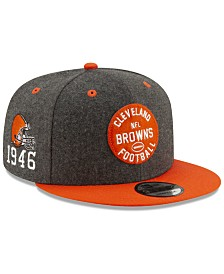 New Era Cleveland Browns On-Field Sideline Home 9FIFTY Cap