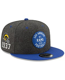 New Era Los Angeles Rams On-Field Sideline Home 9FIFTY Cap