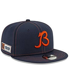 Chicago Bears On-Field Sideline Road 9FIFTY Cap