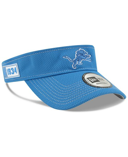 online store retail prices sale New Era Detroit Lions 2019 On-Field Sideline Visor & Reviews ...
