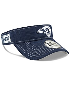 New Era Los Angeles Rams 2019 On-Field Sideline Visor