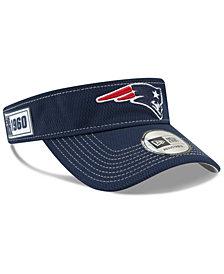 New Era New England Patriots 2019 On-Field Sideline Visor