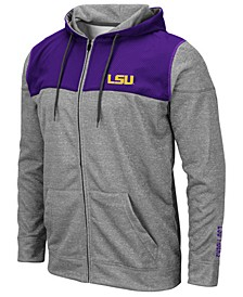 Men's LSU Tigers Nelson Full-Zip Hooded Sweatshirt