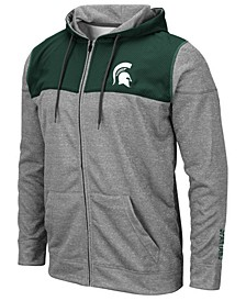 Men's Michigan State Spartans Nelson Full-Zip Hooded Sweatshirt