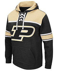 Men's Purdue Boilermakers Skinner Hockey Hooded Sweatshirt