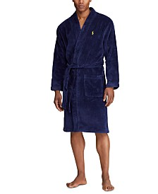 Polo Ralph Lauren Men's Pony Velour Bathrobe