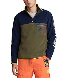 Men's Big & Tall Color Blocked Pullover