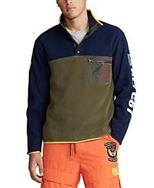 Men's Big & Tall Color Blocked Pullover