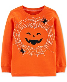 Carter's Baby Boys Cotton Jack-O-Lantern T-Shirt