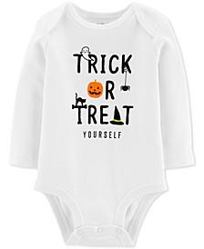 Baby Boys & Girls Trick Or Treat Cotton Bodysuit