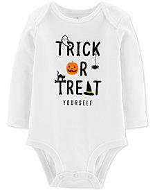 Carter's Baby Boys & Girls Trick Or Treat Cotton Bodysuit