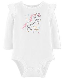 Carter's Baby Girls Unicorn Magic Bodysuit