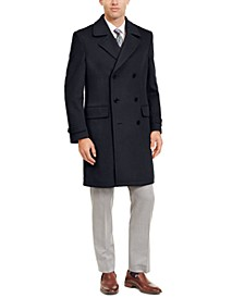 Men's Classic-Fit Double Breasted Peacoat
