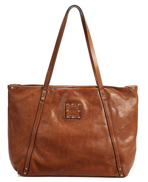 OLD TREND Rose More Leather Tote Bag