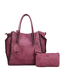 Sprout Land Leather Tote Bag