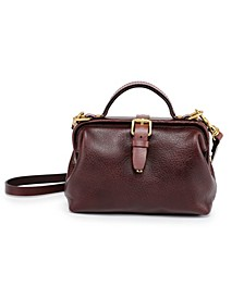 Doctor Leather Crossbody Bag