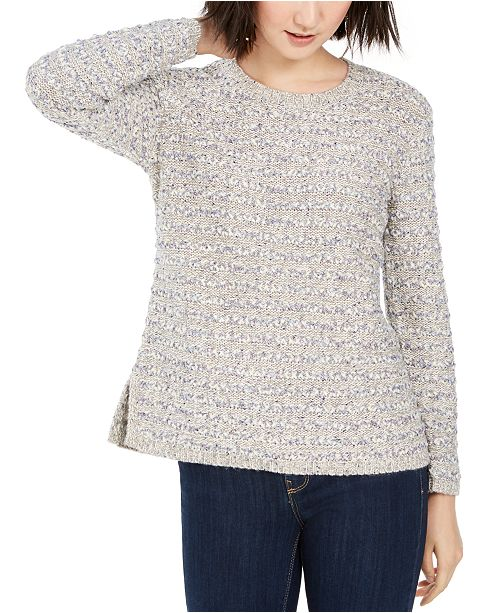 Style & Co Striped Sweater, Created for Macy's