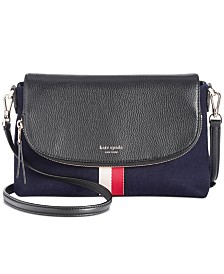 Kate Spade New York Polly Felt Flap Crossbody