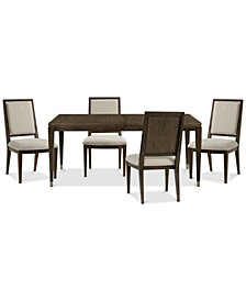 Monterey Dining 5-Pc. Set (Table & 4 Side Chairs), Created for Macy's