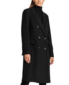 Lauren Ralph Lauren Notch Collar Double-Breasted Coat