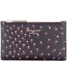 Kate Spade New York Sylvia Meadow Slim Bifold Wallet
