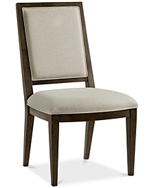 Monterey Upholstered Back Side Chair, Created for Macy's