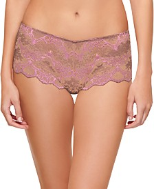 Wacoal Women's Lace Boyshort Underwear 845257