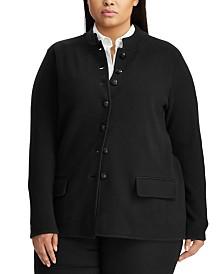 Lauren Ralph Lauren Plus Size Officer's Jacket