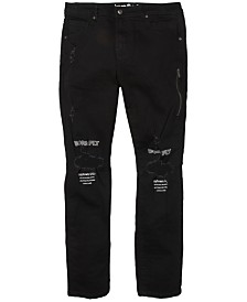 Born Fly Men's Big & Tall Embellished Jeans