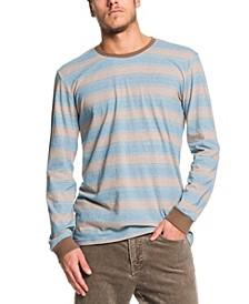 Men's Double Shakka Striped Long Sleeve T-Shirt