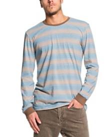 Quiksilver Men's Double Shakka Striped Long Sleeve T-Shirt
