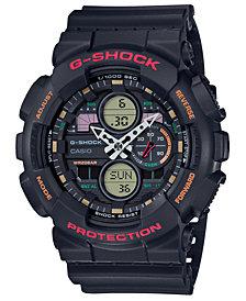 G-Shock Men's Analog-Digital Black Resin Strap Watch 51.2mm