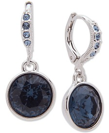 Givenchy Crystal Drop Earrings