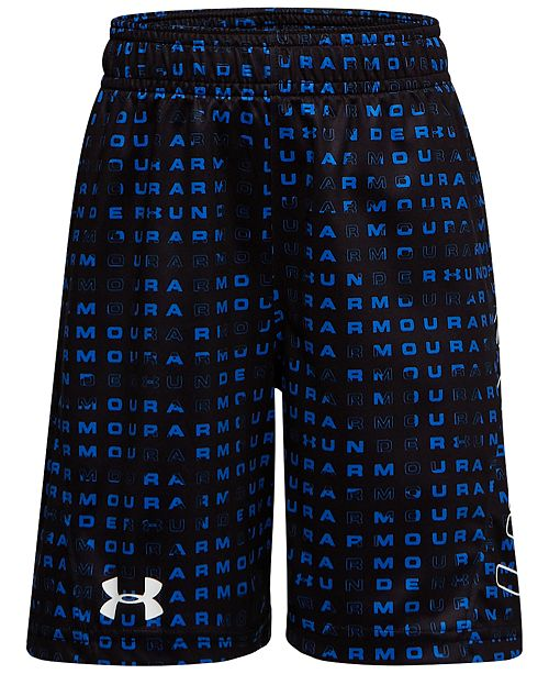 Under Armour Toddler Boys Jagger Boost Printed Shorts