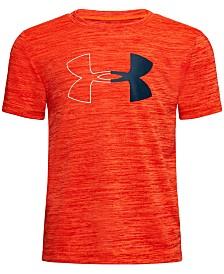 Under Armour Little Boys Twist Logo-Print T-Shirt