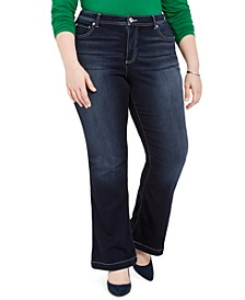INC Plus Size Bootcut Jeans, Created for Macy's