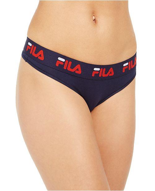 Fila Cotton Logo Thongs