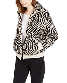 Juniors' Sherpa Bomber Jacket