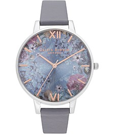 Women's Under The Sea Blue Polyester Strap Watch 38mm