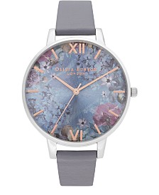 Olivia Burton Women's Under The Sea Blue Polyester Strap Watch 38mm