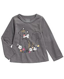 First Impressions Baby Girls Squirrel T-Shirt, Created For Macy's