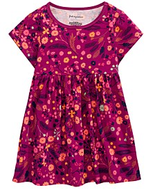 Baby Girls Floral-Print Cotton Tunic, Created For Macy's