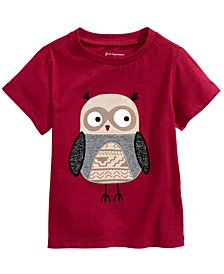 Baby Boys Cotton Little Owl T-Shirt, Created for Macy's