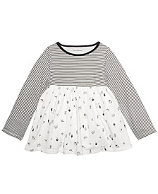 Baby Girls Cotton Woodland Animals Tunic, Created For Macys's